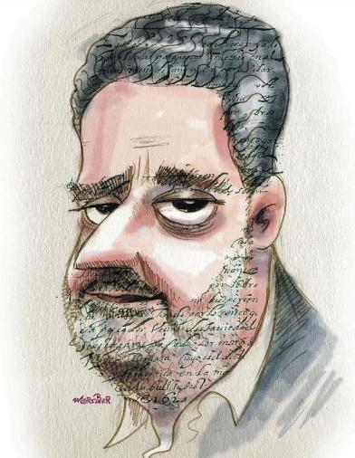 HUMBERTO GONZALI. Caricatura de Mortiner