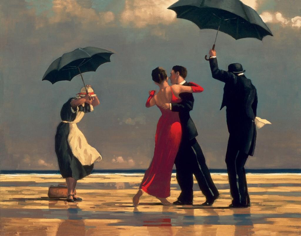'The Singing Butler' de Jack Vettriano
