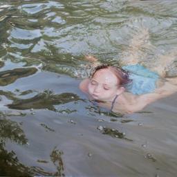 """POOLS, LAKES AND RIVERS"" DE LAURA SANDERS"