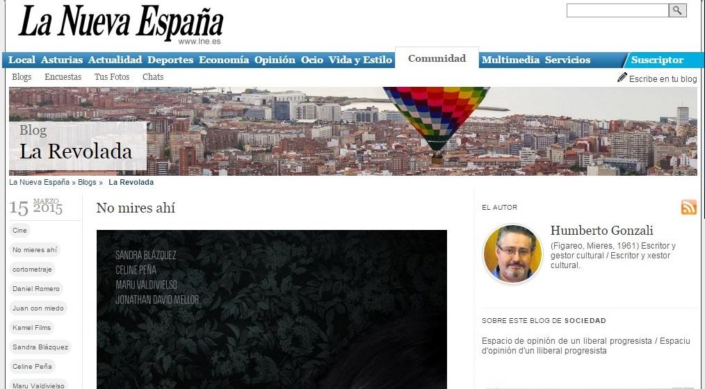 Blog en La Nueva España